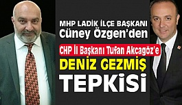 MHP'li Başkan Özgen'den CHP İl Başkanı Akcagöz'e, Deniz Gezmiş Tepkisi