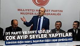 MHP'li Topçu'den İyi Parti Tepkisi: Boşanırken Düğün Yapan Gördünüz mü?