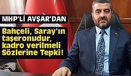 MHP'den Ağbaba'ya Sert Tepki!