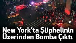 New York'ta Şüphelinin Üzerinden Bomba Çıktı