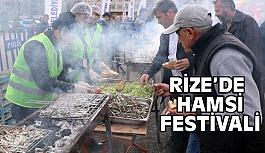 Rize'de Hamsi Festivali Etkinliği