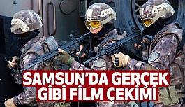 """Samsun'da """"Hayatta Kal"""" Dizi Flm Çekimlerine Başlandı"""