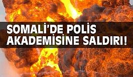Somali'de Polis Akademisine Saldırı