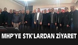 STK'lardan MHP'ye Ziyaret
