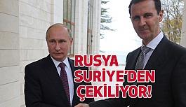 Suriye'deki Rus ordusuna çekilme emri!