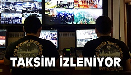 Taksim'de Yılbaşı Güvenliği
