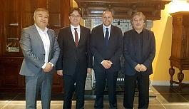 Türk Federasyon ziyaretleri devam ediyor