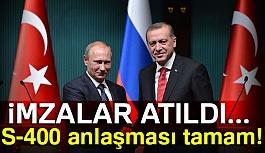 Türkiye ile Rusya Arasında İmzalar Atıldı