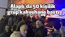 Zonguldak'ta 50 kişilik grupla Kahvehane Baskını