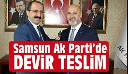 AK Parti Samsun İl Başkanı Hakan Karaduman Görevi Devraldı