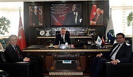 Başkan Belur, Spor İl Müdürü Karayılmaz'ı Makamında Ağırladı