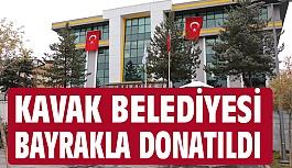 Başkan Sarıcaoğlu, Kavak'ı Bayrakla Donatıyor