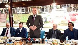 Başkan Togar Çalışan Gazetecilerle Kahvaltıda Bir Araya Geldi