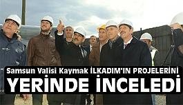 Başkan Tok, Samsun Valisi Osman Kaymak'ı Ağırladı