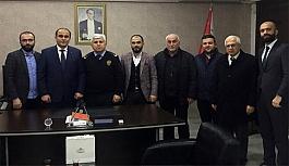 Canik MHP'den İlçe Emniyet Müdürlüğü'ne Ziyaret