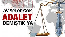Dünyanın Adaleti (Adalet Ne Demektir?)