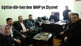 Eğitim-Bir-Sen'den MHP'ye Ziyaret