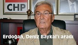 Cumhurbaşkanı Erdoğan Deniz Baykal ile Görüştü
