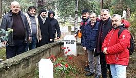 Gazeteci Ferruh Çetin Mezarı Başında Anıldı