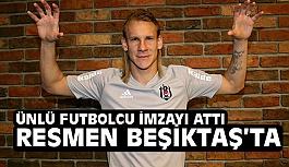 Hırvat defans oyuncusu Vida Resmen Beşiktaş'ta