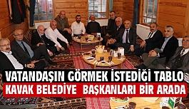 İbrahim Sarıcaoğlu; Eski Belediye Başkanlarını Onurlandırdı