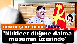 Kuzey Kore lideri Kim, Yeni Yıl Konuşmasında Çıldırdı!