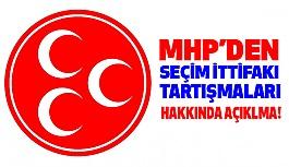 """MHP'den """"Seçim İttifakı Tartışmaları"""" Üzerine Açıklama"""