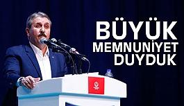 Mustafa Destici; MHP ile AK Parti'nin Yakınlaşmasından Memnuniyet Duyduk