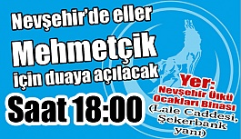 Nevşehir'de eller Mehmetçik İçin Duaya...