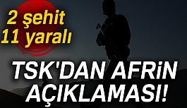 Son Dakika: 2 askerimiz şehit 11 askerimiz yaralı