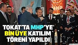 Tokat'ta MHP'ye Bin Üye Katılım Töreni Yapıldı