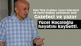 Yücel Hacaloğlu Hayatını Kaybetti