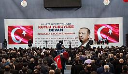 Zonguldak'ta AK Parti 6.İl Olağan Kongresi