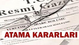 Atama Kararları Resmi Gazete'deYayımlandı
