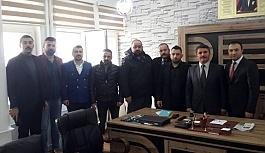 Başkan Türker'den Halk Eğitim Müdürüne ziyaret