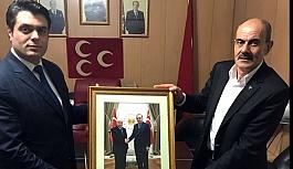 Bayburt'ta AK Parti'den MHP'ye ziyaret