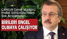 ÇAYKUR Genel Müdürü İmdat Sütlüoğlu'ndan Şok Açıklamalar