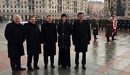 Çiğdem Karaaslan, Başbakan İle Belarus'ta
