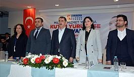 Fuat Köktaş, Adana'da İlçe Kongrelerine katıldı