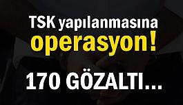 İstanbul Merkezli Flaş FETÖ Operasyonu Tam 170 Kişi...