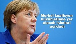 Merkel koalisyon hükümetinde yer alacak isimler