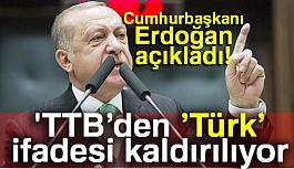 """Oradan 'Türk"""" ifadesi Kaldırılıyor"""