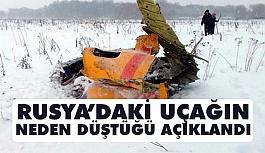 Rusya'daki Uçak Neden Düştü? İşte Açıklama!