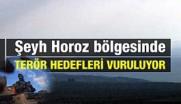 Şeyh Horoz Bölgesinde Teröristler Vuruluyor