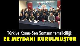 """Türkiye Kamu - Sen Samsun Temsilciliği'nden """"AFRİN""""Açıklaması"""
