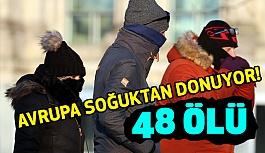 Avrupa'da Soğuktan Ölenlerin Sayısı Yükseliyor