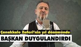 Başkan Ali Murat Alatepe'den duygu Dolu Anlar; Çanakkale Türküsü