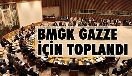 BMGK Gazze İçin Acil Toplandı
