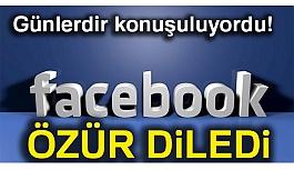 Bu Facebook'ta Günlerdir konuşuluyordu! Özür Diledi