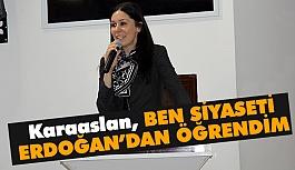 Çiğdem Karaaslan, Çankırı'da Konuştu: Ben Siyaseti Erdoğan'dan Öğrendim